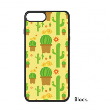 Cactus Potted Plant Succulents Pattern For iPhone 7/7 Plus Cases Phonecase Apple Cover Case Gift