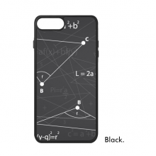 Grey Angle Mathematical Formula Calculus For iPhone 8/8 Plus Cases Phonecase Apple Cover Case Gift